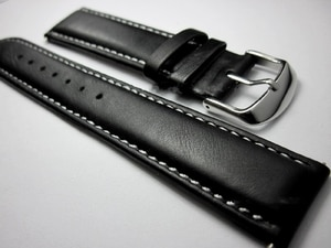 Men's replacement Watchbands 18 19 20 21 22mm Universal Genuine Leather Black Watch Belt Handmade cozy Cowhide Watch Strap Band