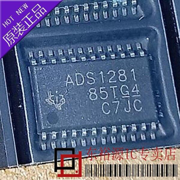 شحن مجاني ADS1281IPW ADS1281IPWR TSSOP 10 قطعة