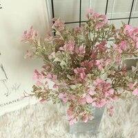 Bouquet de petites feuilles de gazon frais  fausses fleurs  pour decorer un mariage  pour la maison  photographie de bonne qualite  nouveaute 2021