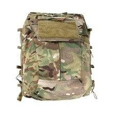 TMC Multicam militaire Airsoft gilet tactique fermeture éclair pochette sac fermeture éclair panneau sac à dos NG Ver livraison gratuite
