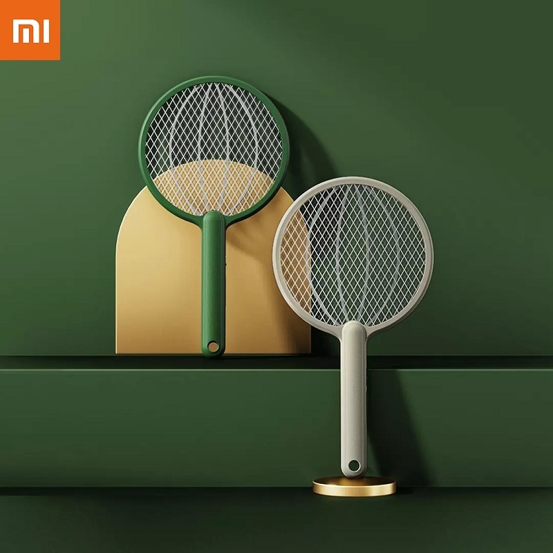 novo xiaomi qualitell alta qualidade casa recarregavel eletrica mosquito raquete