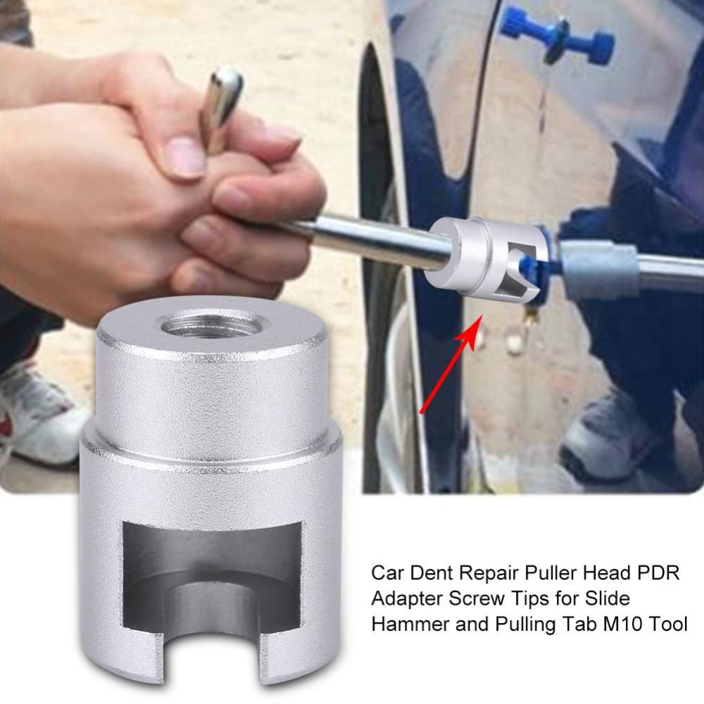 Автомобильный вмятин ремонтный пулер Pai без вмятин ремонтный набор для удаления града винт-адаптер для горного молотка и вытягивания вкладки ремонтный инструмент