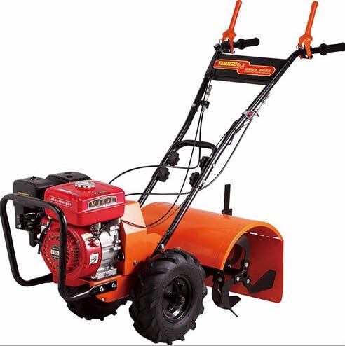 Садовые инструменты 7,5 л.с. 170 F бензиновый двигатель ходовой Трактор Роторный Культиватор, культиватор для ходьбы