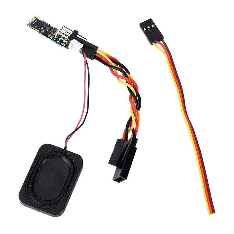 1 unidad de sonido Set, simulador de sonido de motor de coche RC 1/35 RC Crawlers Unidad de sonido Kit accesorio