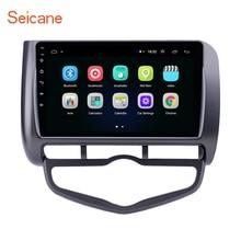 Seicane 2din Android 8.1 2.5D Auto Multimedia playe GPS für 2006 Honda Jazz Stadt Auto AC Rechts Hand Stick unterstützung Carplay OBD