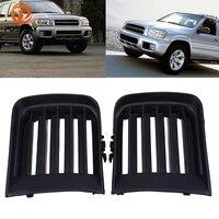 possbay voiture front grills bumper fog light grille cover car accessory for nissan pathfinder r50 1999 2000 2001 2002 2003 2004