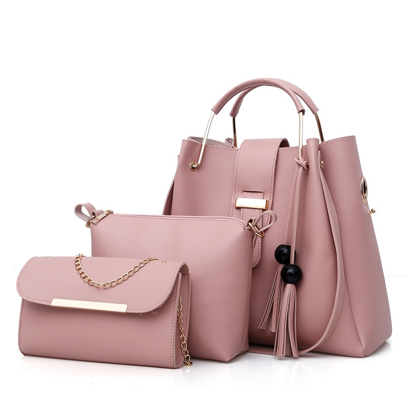 The new lady bag steamed stuffed bun mother bag three-piece suit