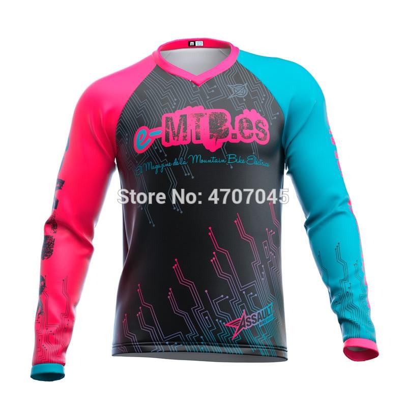 2019 Велоспорт эндуро Мотокросс Джерси dh mtb Джерси mx Горные Джерси велосипедная рубашка