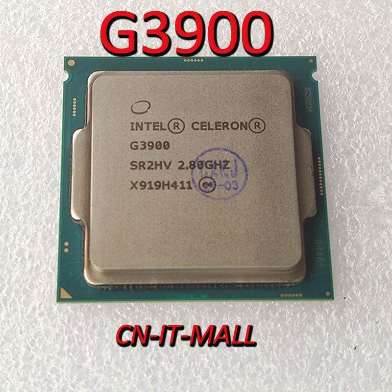 Intel Celeron G3900 CPU 2.8G 2M 2 Core 2 Thread LGA1151 Processor