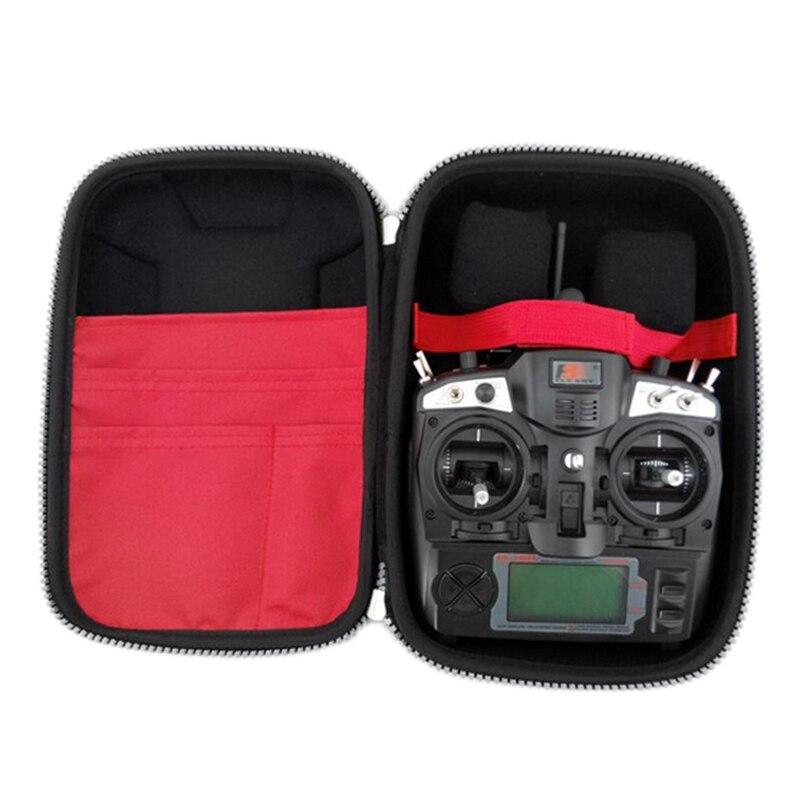 FPV bolsa Universal transmisor RC bolsa de control remoto para RC Walkera Devo 10 Radiolink AT9 AT10 JR Flysky FS I6 TH9X