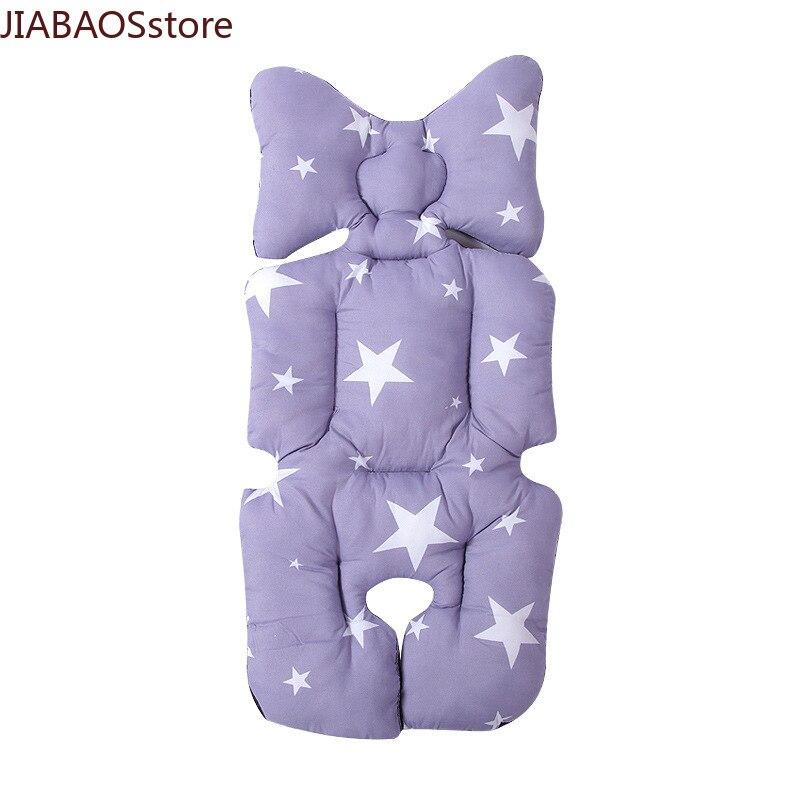 Хлопковая подушка для детской коляски, толстая, теплая, удобная подушка для автомобильного сиденья, матрасы для сна, подушка для детской кол...