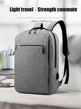 Sacs à dos pour hommes 15.6 pouces sacs à dos dordinateur portable USB charge grande capacité sac à dos scolaire voyage sacs à dos Mochila sacs à bandoulière