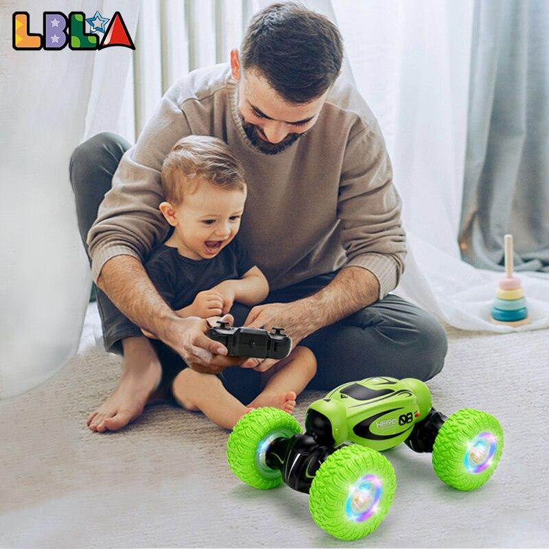 سيارة لعبة للأطفال تعمل بجهاز تحكم عن بعد وتشوه عن بعد ومحول لألعاب الطرق الوعرة والانحراف والانحراف عن بُعد lola D875 RC