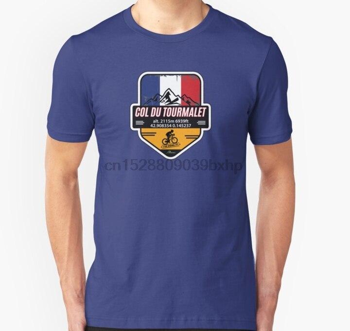 ¡Hombres camiseta Col du Tourmalet Francia etiqueta engomada T camisa lo he hecho! T camisa mujeres camiseta camisetas top