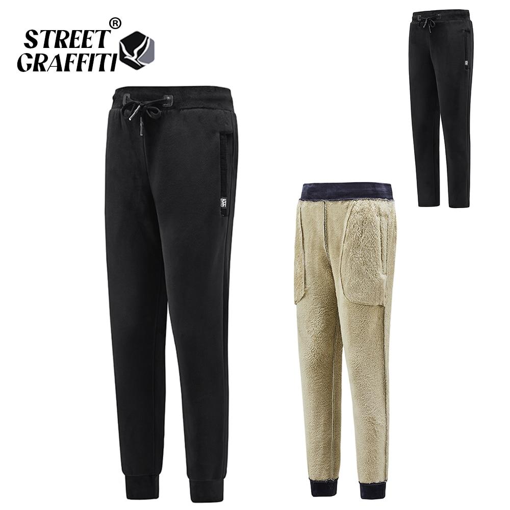 2021 Autumn Men's Pants Casual Outdoor Warm Joggers Thicken For Men Sweatpants Pantalons Fleece Hot Sale Trousers 8XL Men Pants