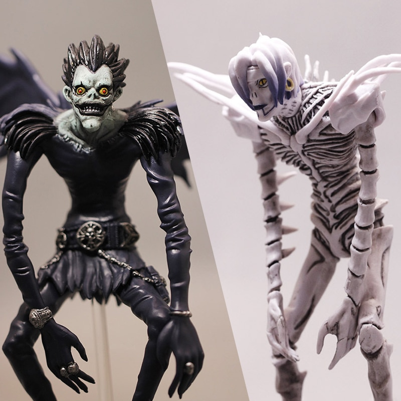 Anime figura de ação japonês quente brinquedos death note figura anime figuras de ação figuras anime rem ryuuku estatueta anime