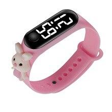 New doll model Mi 3LED touch waterproof electronic watch cute bracelet watch fashion children watch