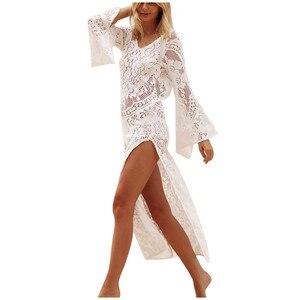Dress Ladies Summer Sexy Lace Long Dress Ladies Beach Summer Long Dress Dress Summer Long Dress Платьядляженщин