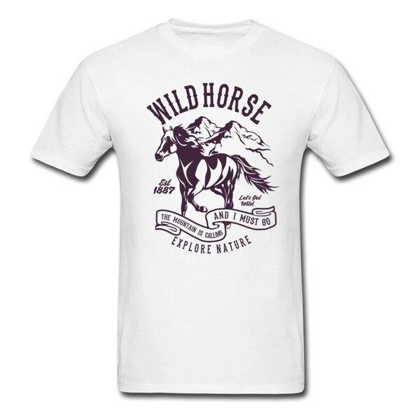 Фото - Дикая Лошадь-исследование природы | Мужская футболка моника кроссон дикая волшебная душа раскрепости свой дух и соединись с мудростью природы