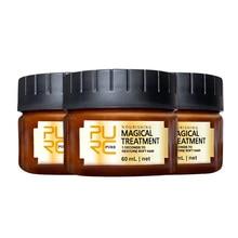 3/2/1PCS PURC Magische Haar Behandlung Maske 5 zweite Reparaturen Schäden Haar Wurzel Weiches Haar Tonic keratin Haar & Kopfhaut Behandlung TSLM1