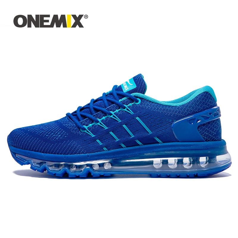 ONEMIX-حذاء جري مسامي للرجال والنساء ، حذاء رياضي ، حذاء تنس خارجي ، مقاس كبير 47 ، تصميم فريد من نوعه