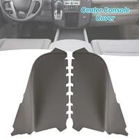 2 pcs armrest cover kit for hondas pilot door panel car center console cover replacement kit leather front door armrest cover