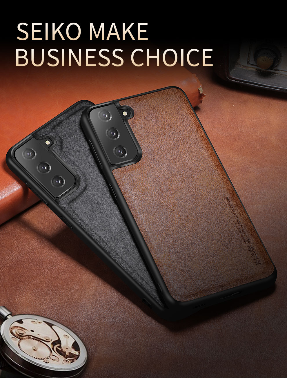 Galaxy S21 Plus Leather Case 2