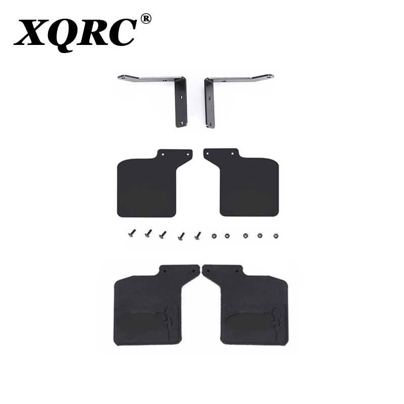XQRC Rubber front and rear mudguards for trx4 defender Mustang, trx-4 upgrade DIY parts enlarge