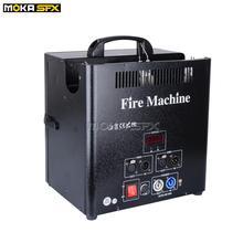 1 pièces 3 tête Machine à incendie canal sûr 180W DMX512 flamme projecteur Machine professionnelle scène effets spéciaux pulvérisation Machine à feu