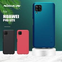 for Huawei P40 Lite Case Nillkin Super Frosted Shield Hard Slim Matte Slim Back Cover for Huawei P40 Lite Nova 7i 6SE Phone Case