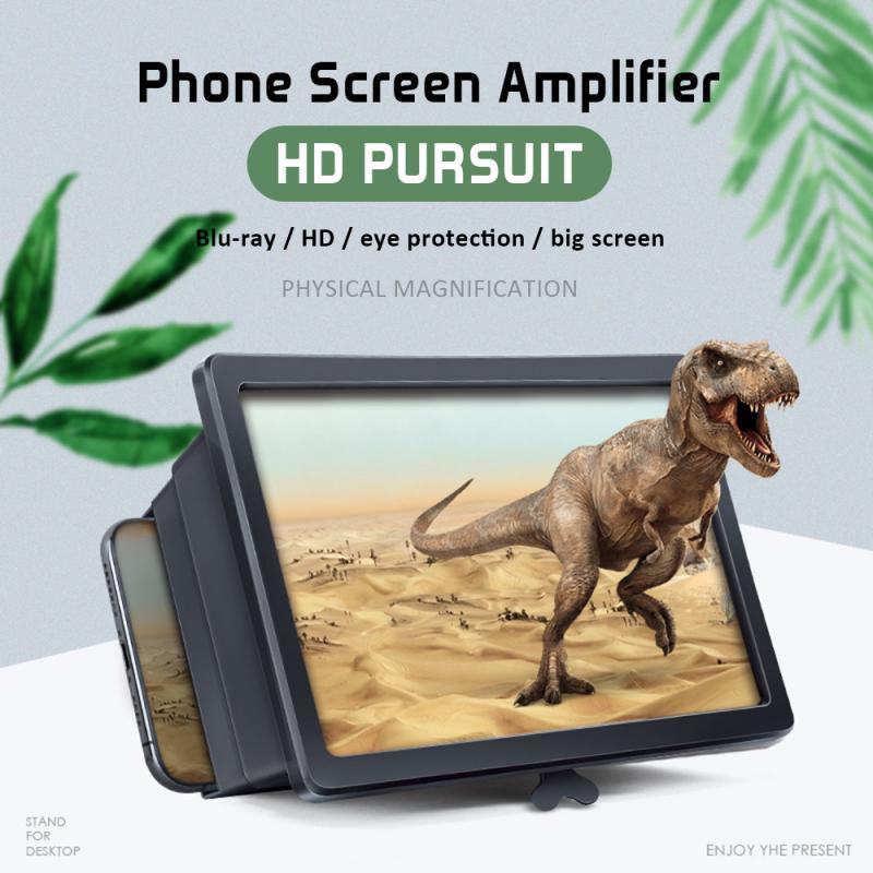 3D téléphone écran Loupe stéréoscopique amplifiant 3D écran Portable universel écran Mobile agrandi pour Loupe Smarephone