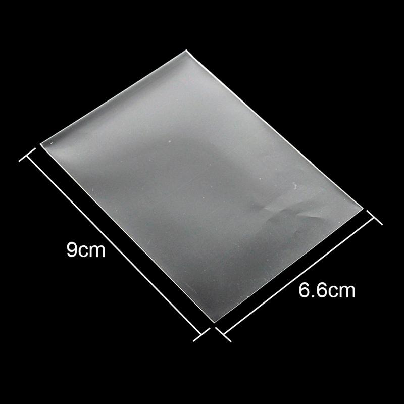 100Pcs Transparent Collection Card Film Card Set Game Protector Kingdoms Kill Sleeves Games Outdoor Wanzhi Card not M6X2