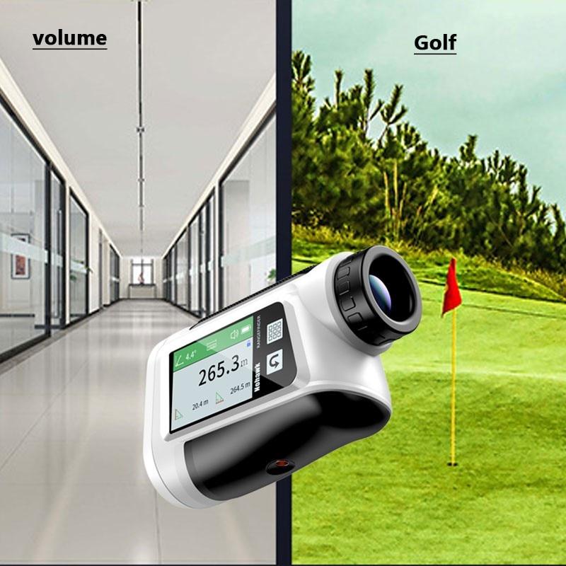 Outdoor Handheld Laser Rangefinder Telescope Electronic Ruler Golf Long Distance Measuring Instrument for Golf