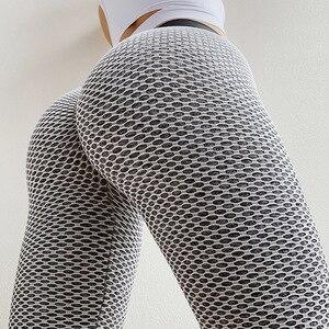 Women Legging Mujer Sexy Push Up High Waist Leggins Activewear Gym Seamless Leggings Feminina Net red polka dot hip yoga pants