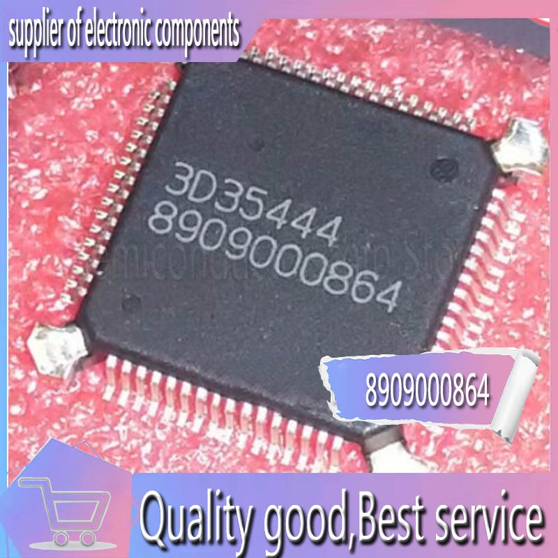 Placa de ordenador EFI diesel Bosch 8909000864, chip de uso común, nuevo original QFP