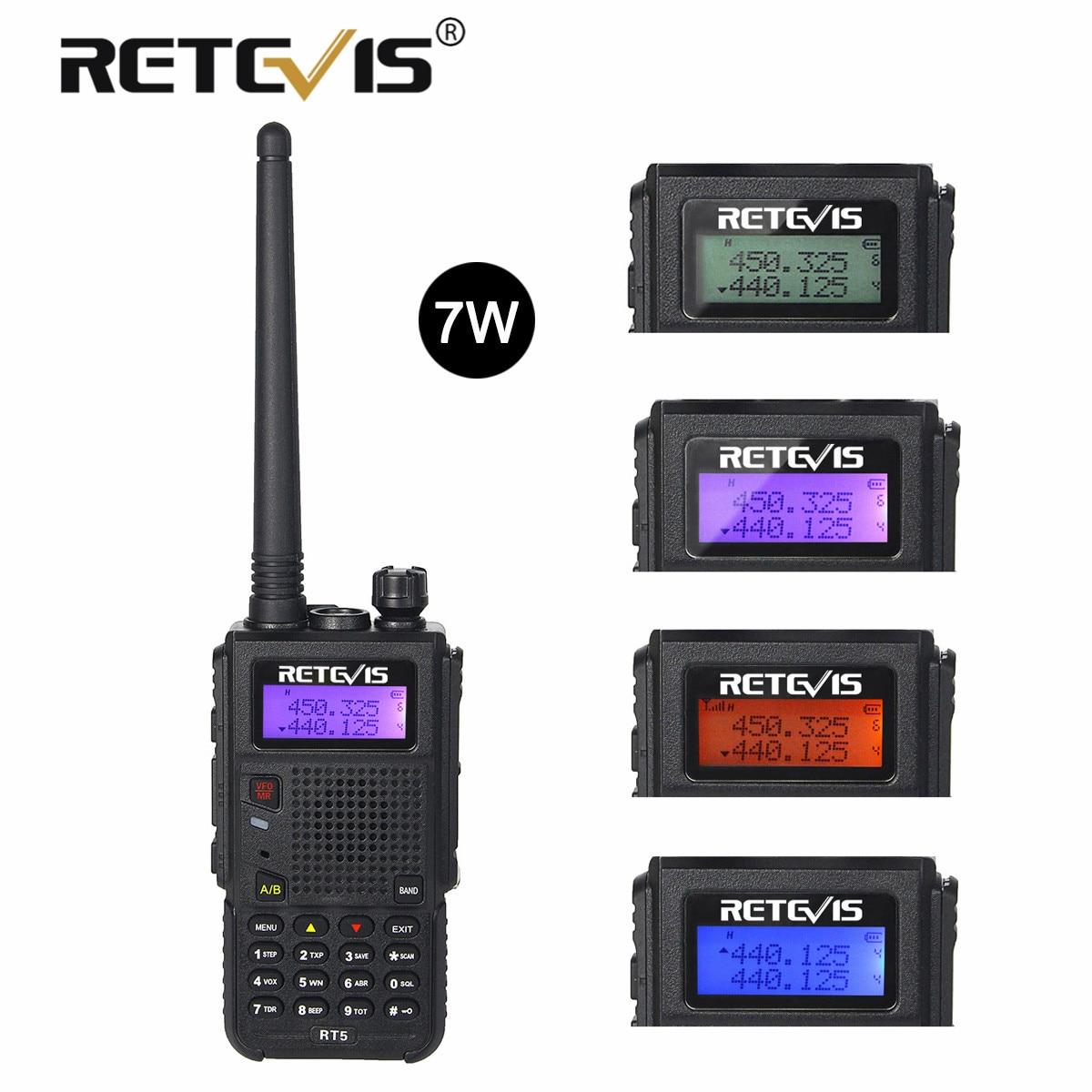 Рация Retevis RT5 Двухдиапазонная, радиостанции VOX FM, 128 каналов, 7 Вт