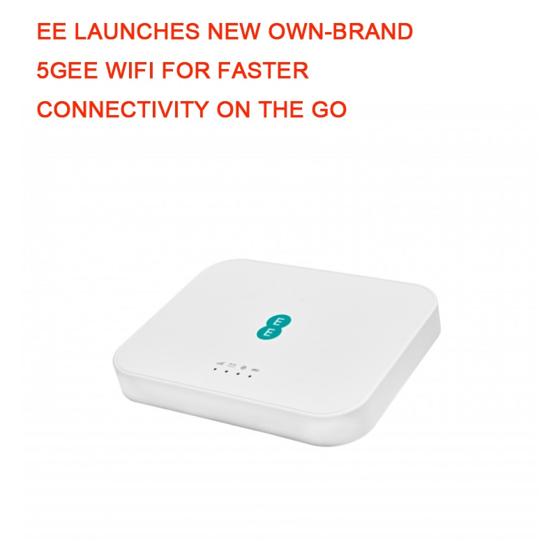 EE LAUNCHES NEW OWN-BRAND 5GEE WIFI FOR FASTER CONNECTIVITY
