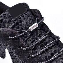 1 para elastyczne sznurowadła okrągłe buty bez sznurówek sznurowadła trampki sznurowadło dla dzieci dorosłych guma elastyczna sznurowadła blokada rozmiar uniwersalny buty