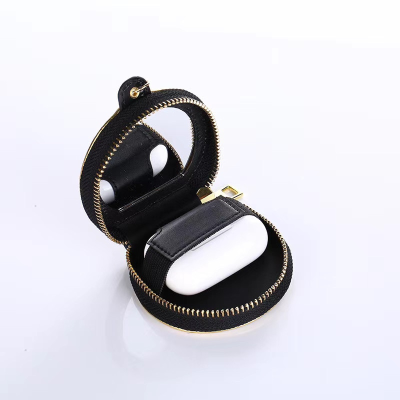 Leather Crocodile Pattern Leather Case for AirPods Huawei Xiaomi Various Types of Bluetooth Headphones Universal Earphone Bag