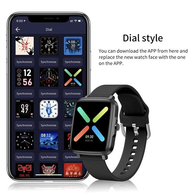 GandlEy F2 Watch Smartwatch Smart Watch Men Women Android IOS Bluetooth Smartwatch 2021 Passometer Smart Watch For Xiaomi 8