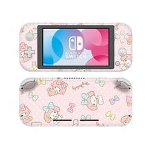 Sanrio My Melody NintendoSwitch, pegatina de piel para Nintendo Switch Lite, Protector para Nintendo Switch, pegatina de piel de vinilo