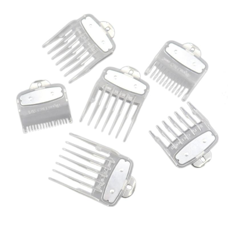 6 шт. для машинки стрижки волос WAHL бордюров ограничитель гребень направляющая