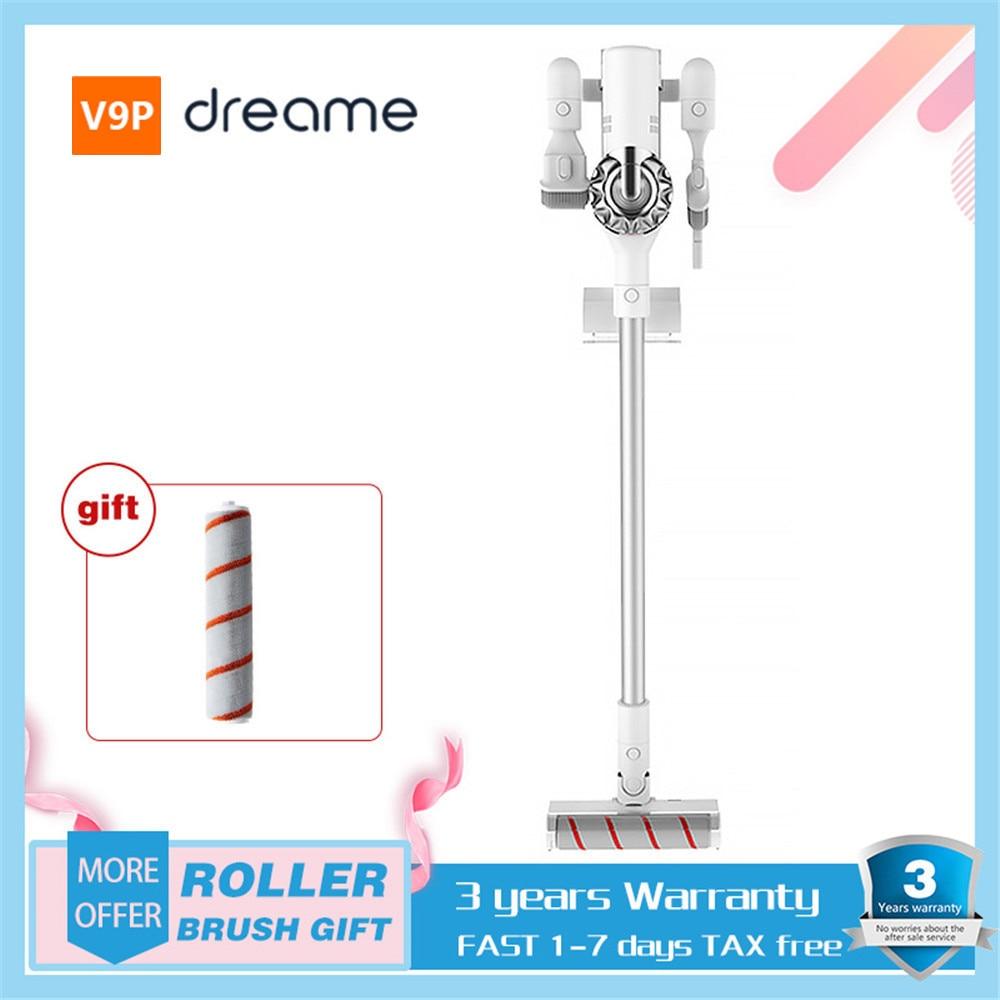 Aspiradora portátil XIAOMI Dream V9/V9P, aspiradora inalámbrica de mano, aspiradora ciclónica portátil 400W 20000Pa, recolector de polvo para alfombras