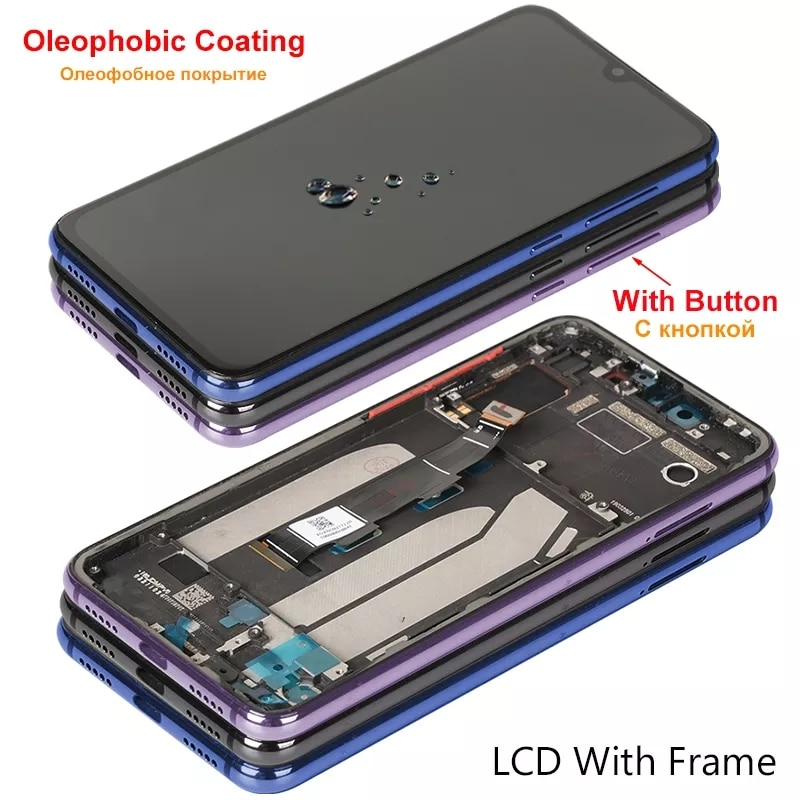 5.97″ AMOLED Display For Xiaomi Mi 9 SE LCD Display For Mi9 SE Display With Frame Touch Screen UY Replacement Parts Mi M1903F2G enlarge