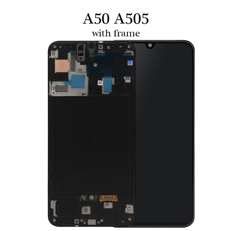 OEM For Samsung A50 SM-A505FN/DS A505F/DS A505 LCD Display Touch Screen Digitizer Assembly For Samsung A50 LCD enlarge