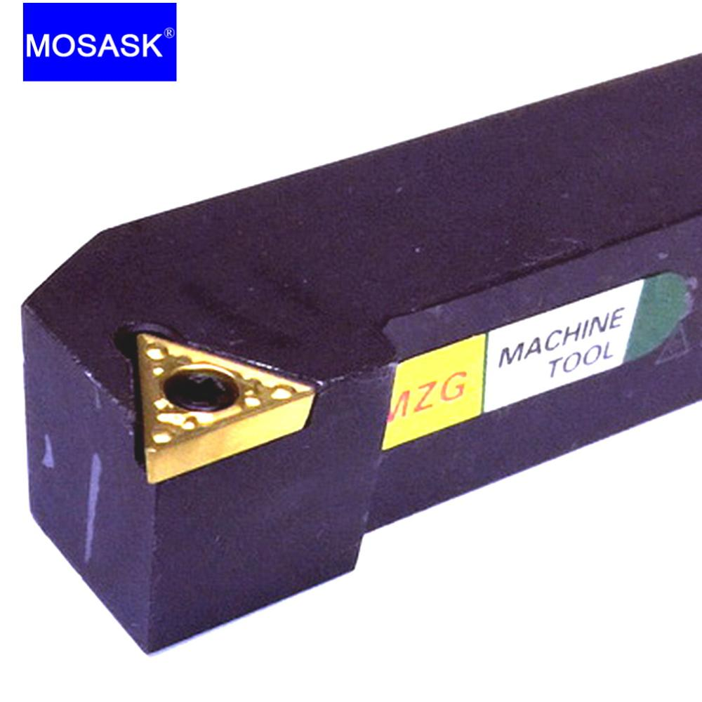 MOSASK STGCR Cutters Indexable Carbide Insert STGCR2020K16 Metal Machining CNC Lathe External Turning Tool Holders