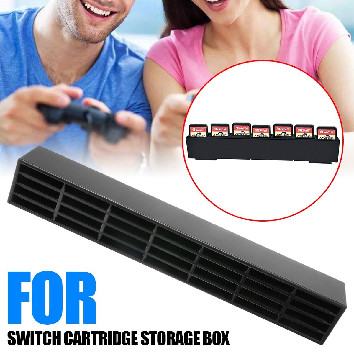 28 em 1 durável plástico gaming cover titular 28 pçs caixa de cartão de jogo armazenamento suporte de cartões de jogo casos de armazenamento para acessórios de jogo