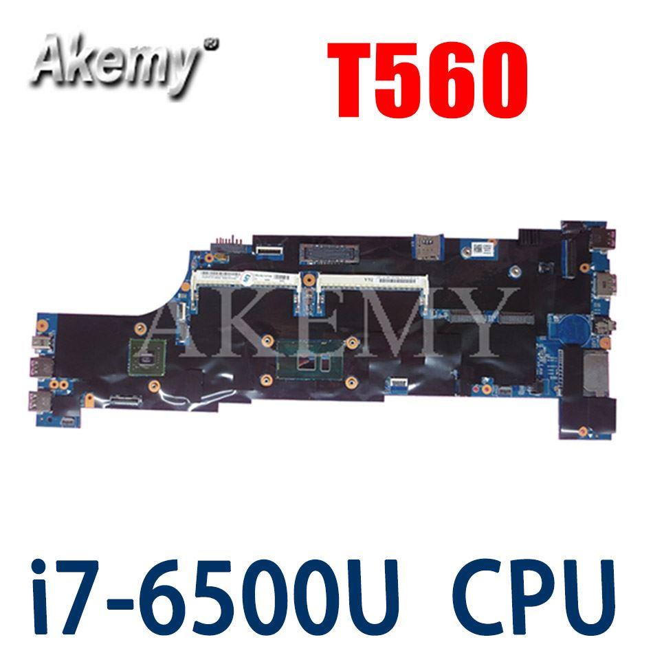 Akemy 01AY341 01AY460 Motherboard Für Lenovo ThinkPad T560 W560S P50S Laotop Mainboard mit 940MX i7-6500U
