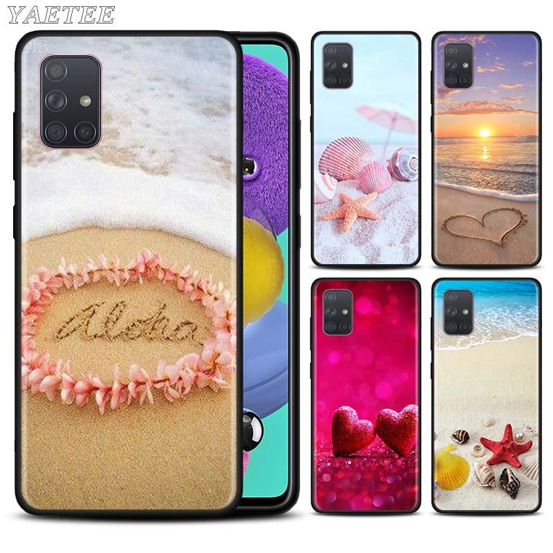 Летний Пляжный Hawaii Aloha Sea Ocean чехол для телефона Samsung Galaxy A51 A71 5G A50 A70 A10 A10s A20 A30 A40 A31 A41 A7 2018