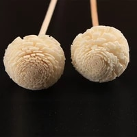 5pcsset flower rattan reeds fragrance diffuser non fire replacement refill sticks aromatic incense supply